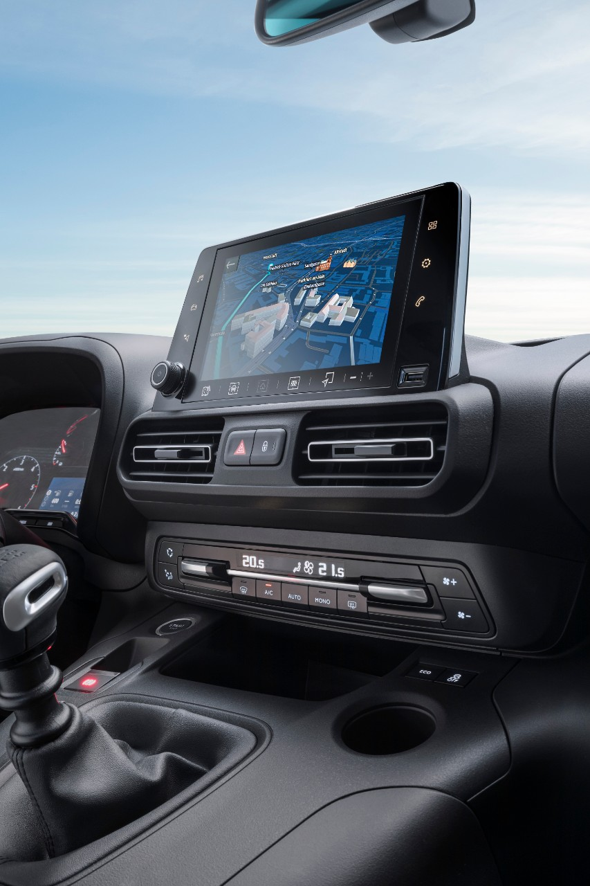 Opel Combo Life infotainment