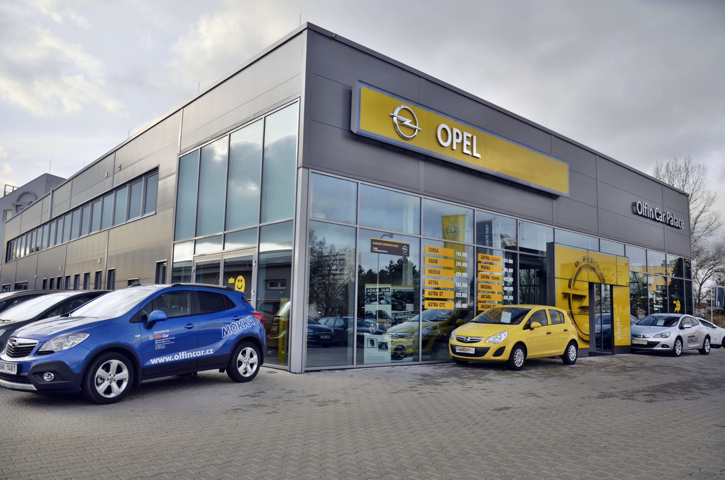 Opel Olfin Car Palace